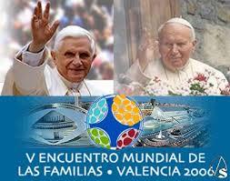 La familia: Homilía de Benedicto XVI  en Valencia