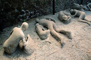El molde que selló Pompeya y Herculano