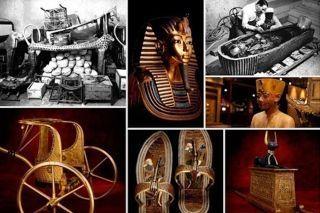 Los tesoros de la tumba de Tutankamón (II)